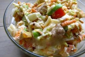 Resep Salad Mie Sayuran