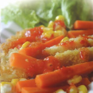 Resep Chicken Cora Steak
