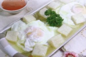 Resep Bread Soup Mix Garlic & Eggs