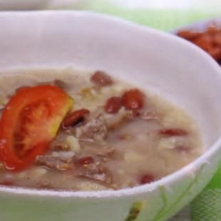 Resep Cream Meat Soup
