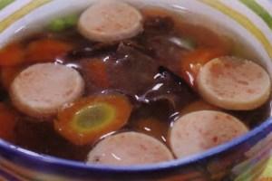 Resep Mushroom Rolade Soup