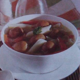 Resep Penne Sup Sosis