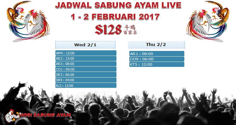 jadwal-sabung-ayam-online-februari-2017