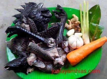 manfaat daging ayam cemani