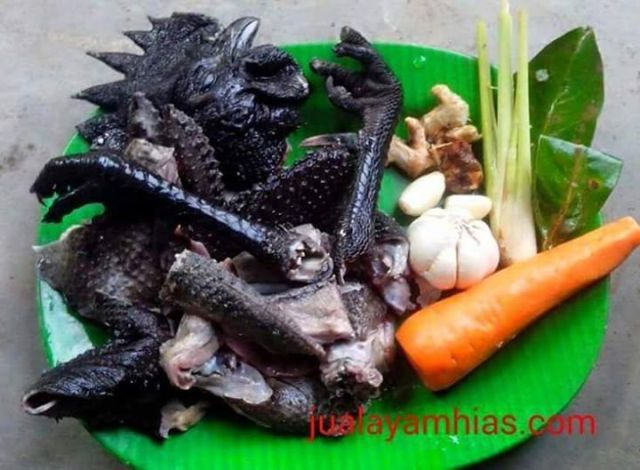 Ayam cemani meat has benefits if you consume it, and you can create it into any dish. | Cemani meat