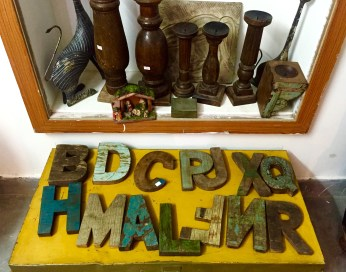 shopping quirky wooden alphabets jodhpur
