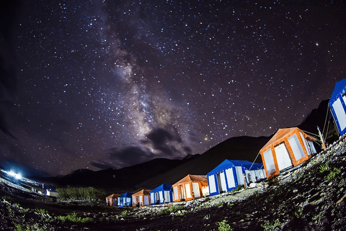Best Camps in Pangong Lake