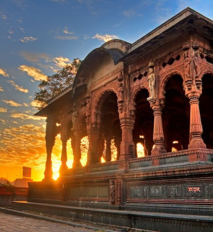 Chattris- historical places to visit in indore for architecture