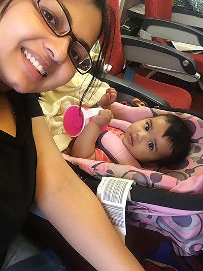 traveling with an infant air india indian airlines car stroller
