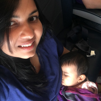 flying with baby on lap jet airways