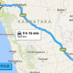 bangalore to goa by road - best route