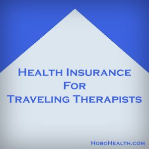 traveling therapist health insurance