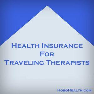 traveling therapist health insurance