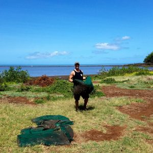 PTDOS - Fish Pond Clean up in Hawaii