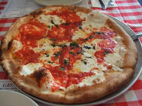 grimaldis pizza hoboken gluten free