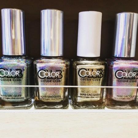 hoboken girl - dream nail and spa - HGmanimonday - holographic polish