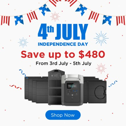 Ecoflow 4th of july sale