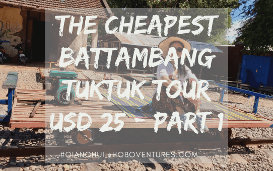 The Cheapest Battambang  $25 day tour Cambodia - Part 1