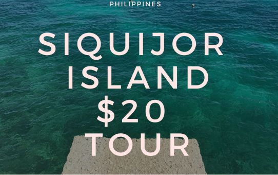 SIQUIJOR ISLAND $20 TOUR  Philippines