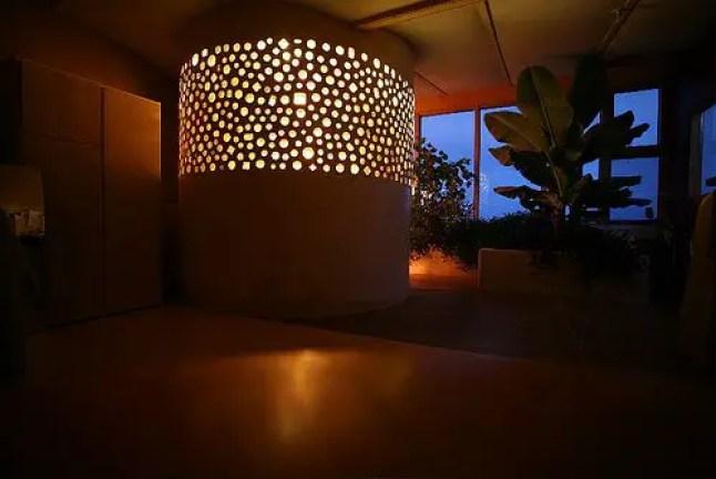earthship lighting ideas