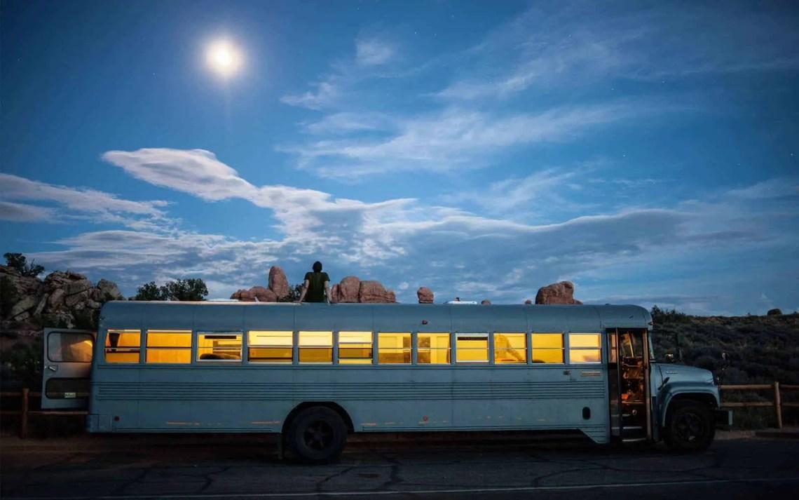 Tiny House Bus Conversion