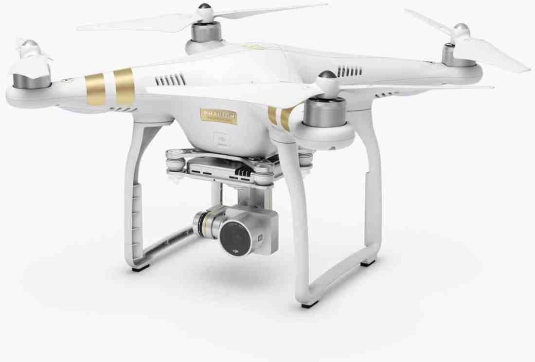 DJI Phantom PRO Top-rated drone for travel bloggers