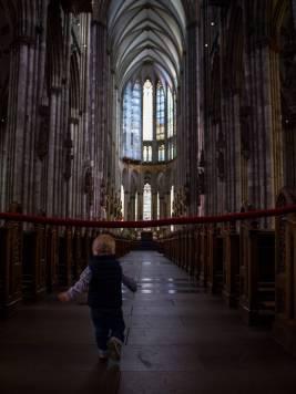 Vater-Sohn-Tag in der Kölner Innenstadt