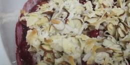 paleo raspberry crisp