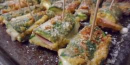 zucchini saltimbocca