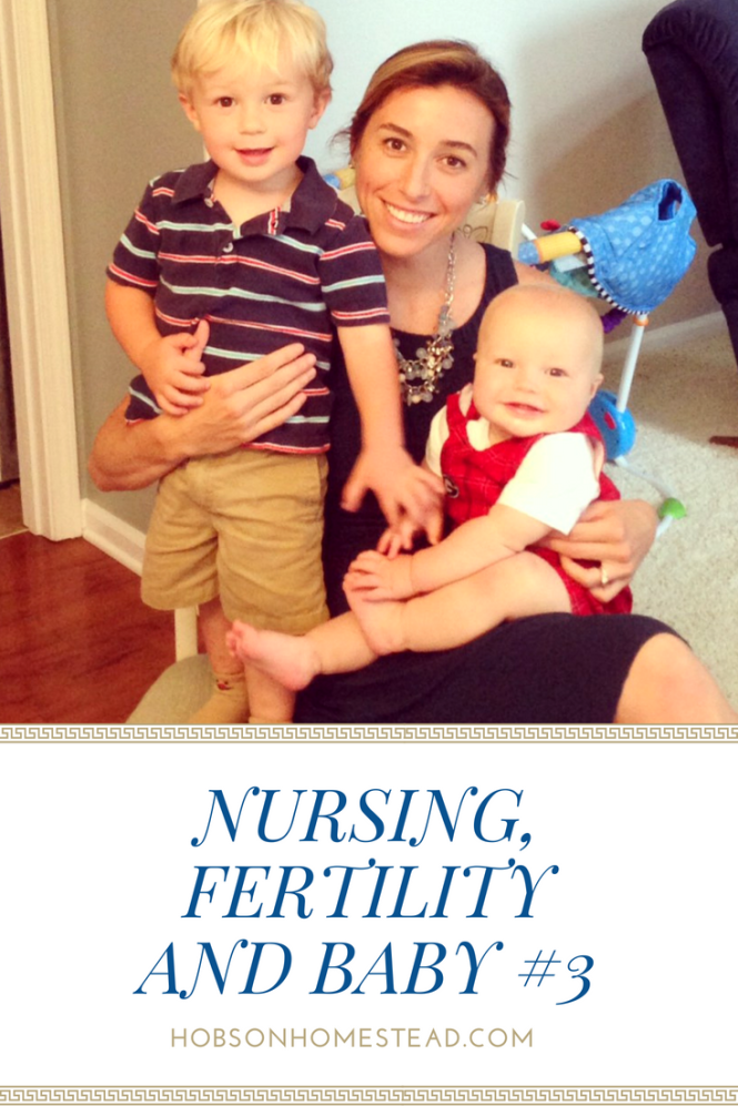 nursing and fertility
