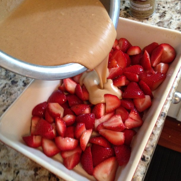 gf strawberry cobbler recipe