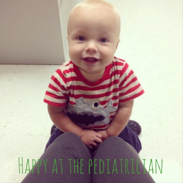 beau at pediatrician