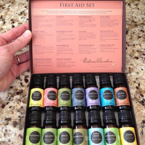 essentials oils set