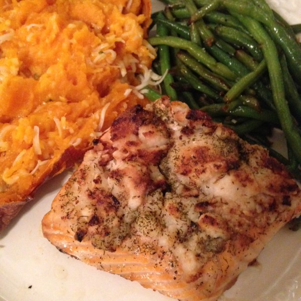 coconut butter salmon