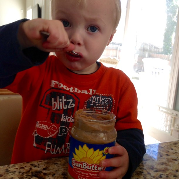 toddler spoonful sunbutter