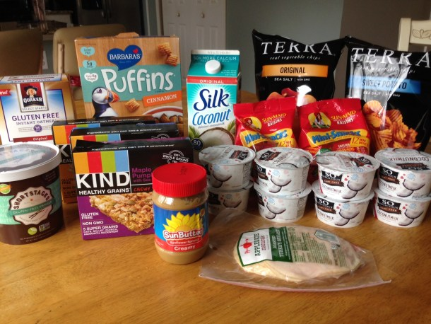 elimination diet foods and snacks, allergen-free foods and snacks