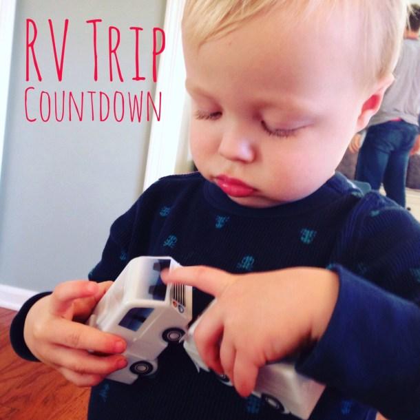 RV trip countdown