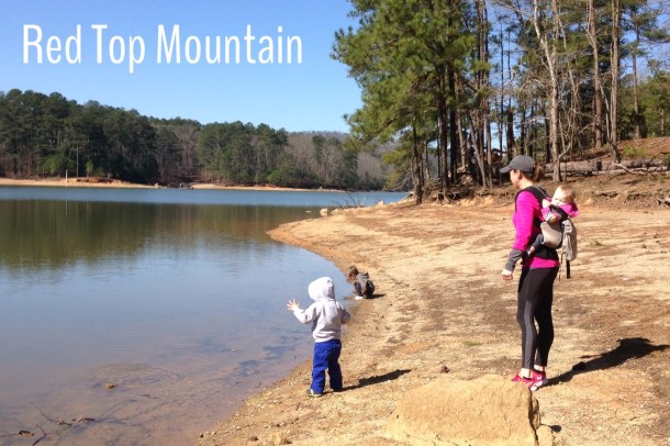 red top mountain hike Feb 2016