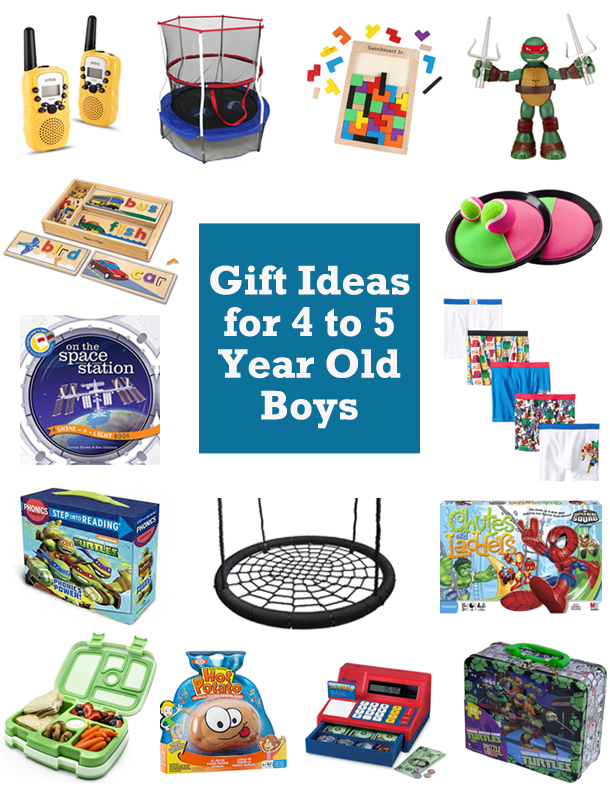 15 Gift Ideas for 4 and 5 Year Old Boys [2016]