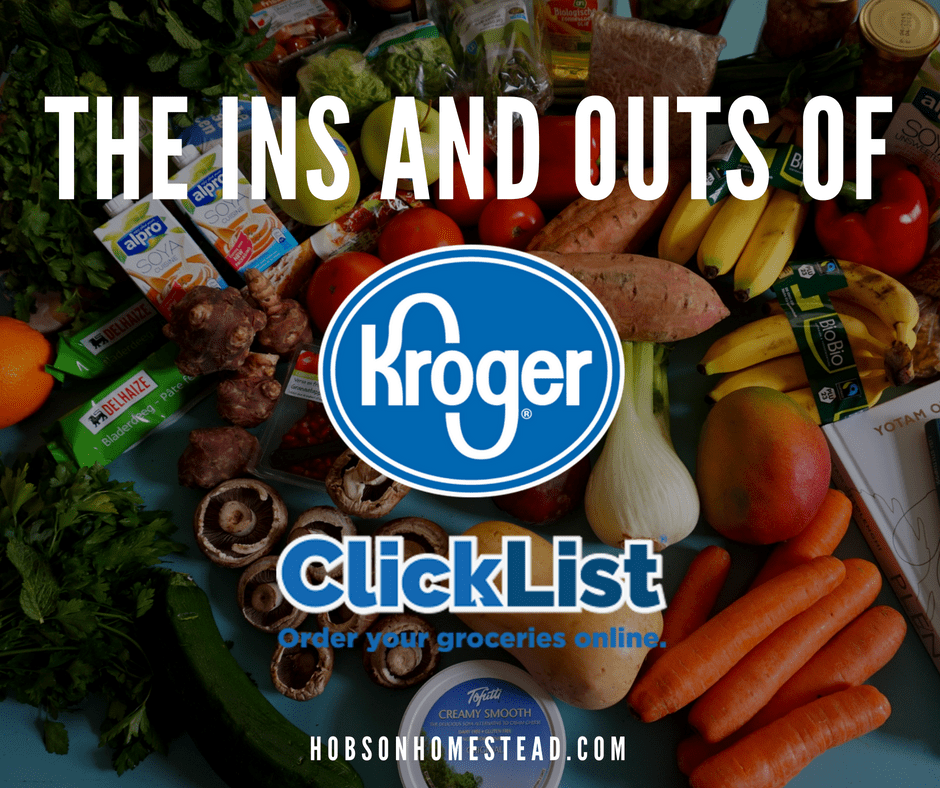 The Ins and Outs of Kroger Clicklist