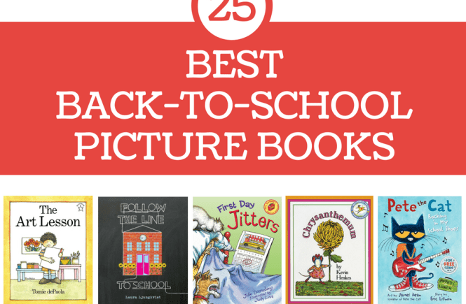 best back to school picture books