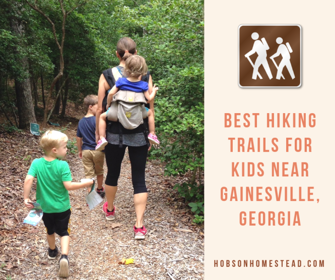 hiking trails for kids near gainesville
