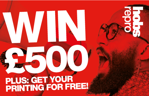 Students: Win £500, plus: get your printing for free.