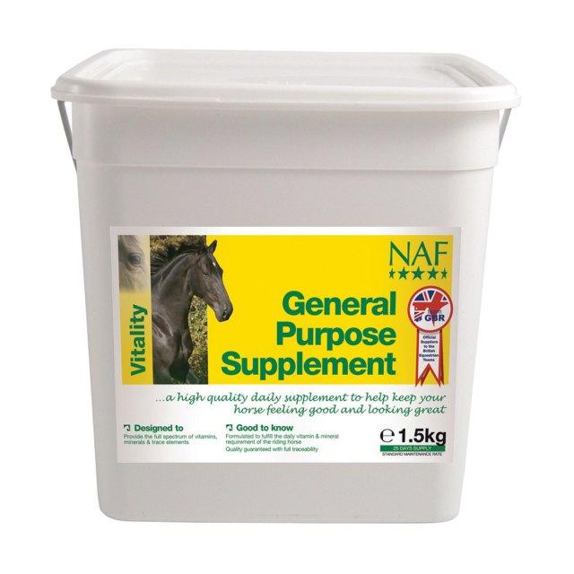 vitamiinilisand hobustele NAF General Purpose Supplement