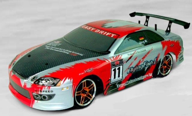 HSP 1/10th Scale Drifting Car Brushed Motor(Flying Fish) RTF 2.4Ghz