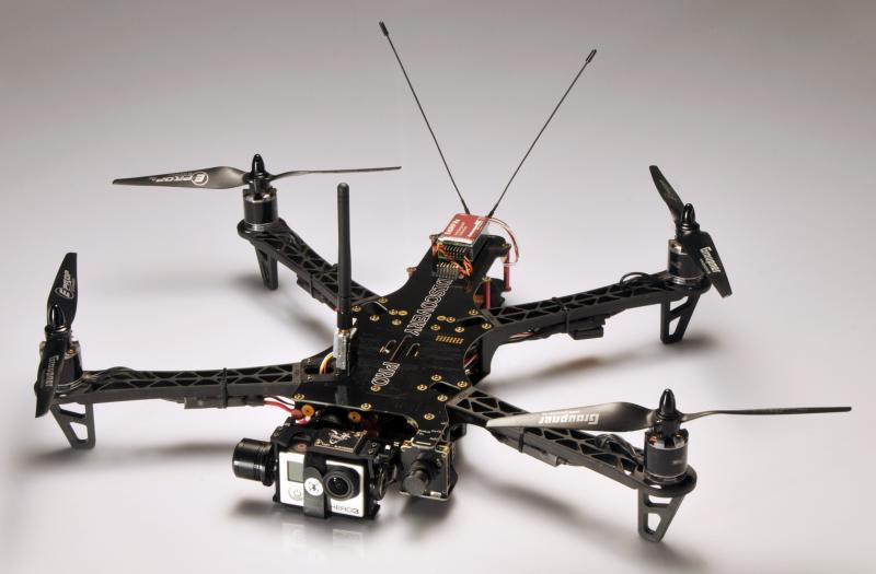TBS Discovery PRO Frame with BL Gimbal