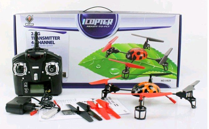 WL Toys Quadcopter V929 (Beetle)