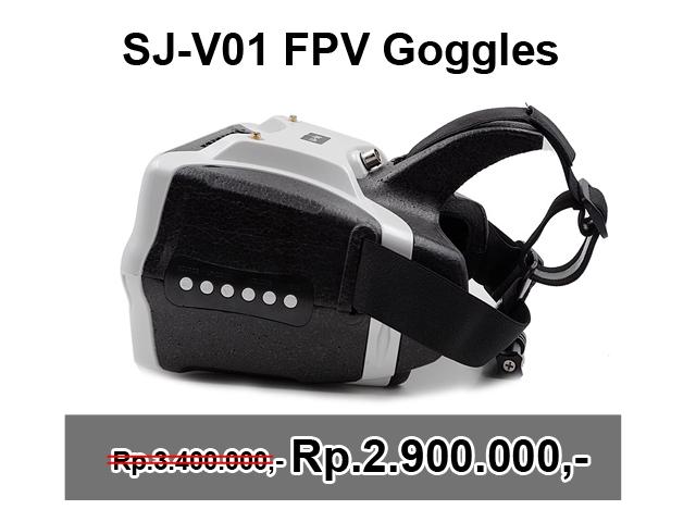 SJ-V01 5.8G 40CH FPV Goggles 7 Inch 1280×800 HD Video Glasses with HDMI Input