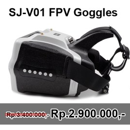 SJ-V01 5.8G 40CH FPV Goggles 7 Inch 1280×800 HD Video Glasses with HDMI Input