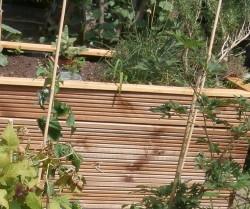 Holzbeet Eigenbau